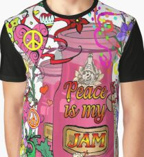 Peace Is My Jam Graphic T-Shirt