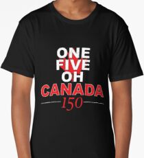 Canada 150 (Black) Long T-Shirt