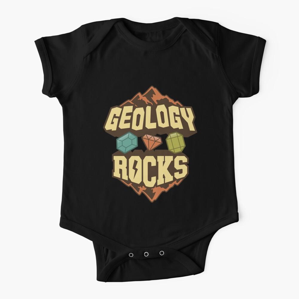 Geology Rocks Baby One-Piece