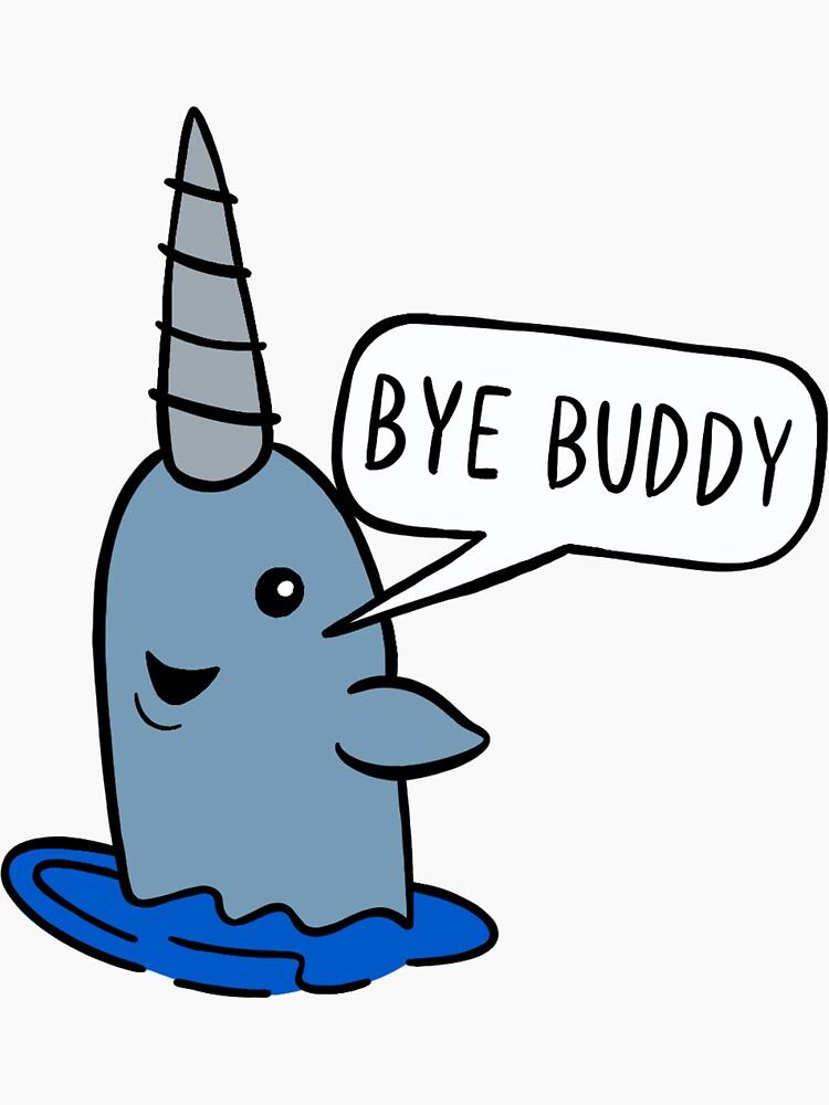 Bye Buddy by marleesmarkings