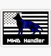 MWD K9 Handler Sticker