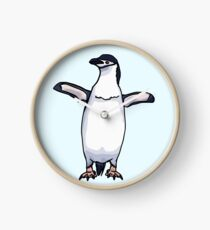 Chinstrap Penguin Clock