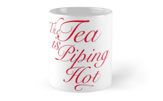 The Tea is Hot-Spill It by writenow