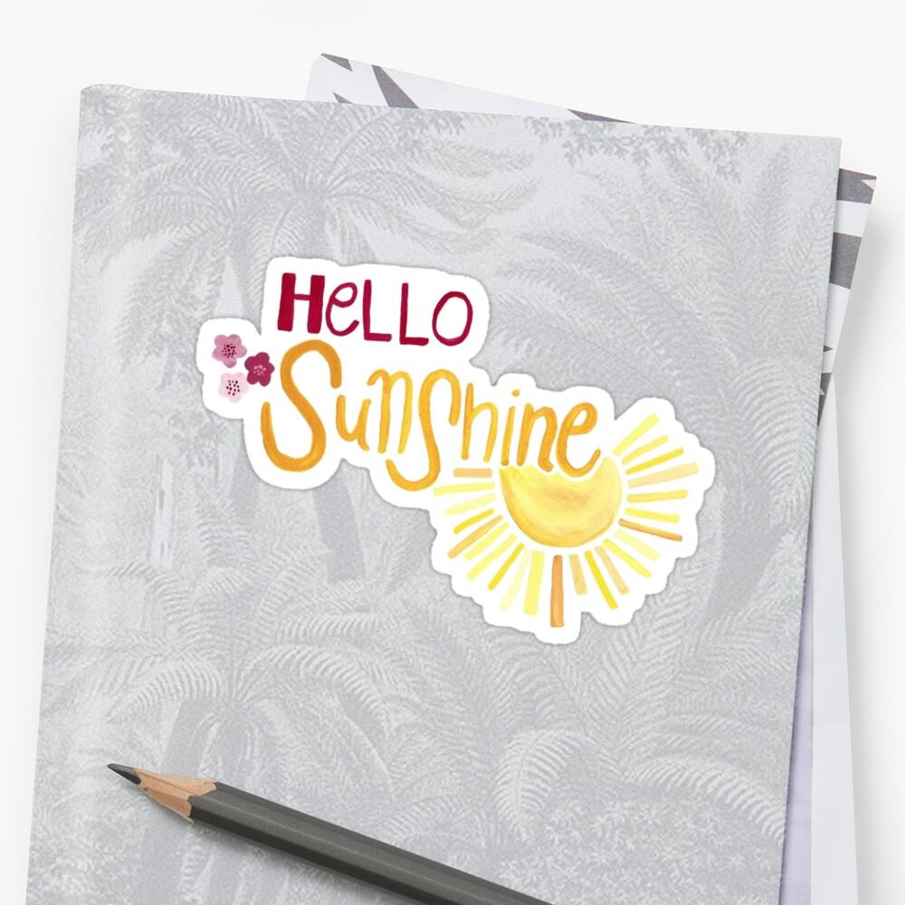 Hello Sunshine by WrennHouseDes