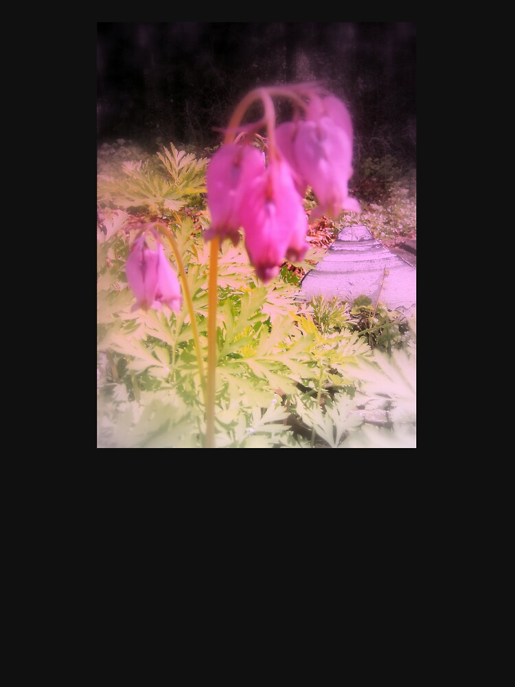 pink bleeding hearts #5, tinted by DlmtleArt