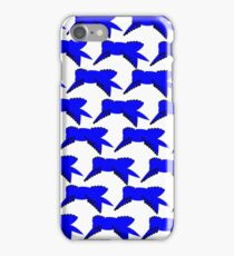 Blue Ribbon Repeating iPhone Case/Skin