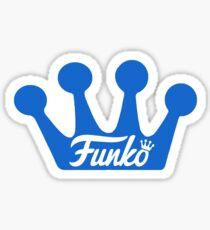 Funko Crown - Royal Blue Sticker