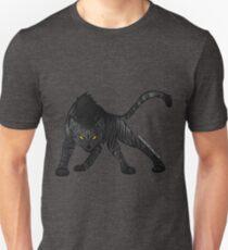 Dunkelstreifen Unisex T-Shirt