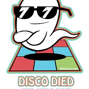 Disco Ghost by hpkomic