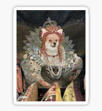 Queen Elizabark Sticker