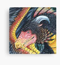 Chicken dragon Canvas Print