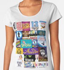 Broadway Musicals Women's Premium T-Shirt