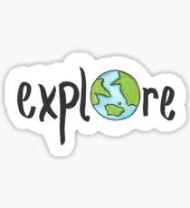 Explore! Sticker