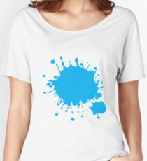Paint Splatter Women's Relaxed Fit T-Shirt