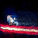 Stars And Stripes Showjumper - Colour Explosion by Michelle Wrighton