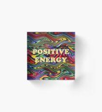 Positive Energy Acrylic Block
