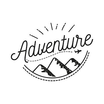 Adventure Logo Typography by estybain
