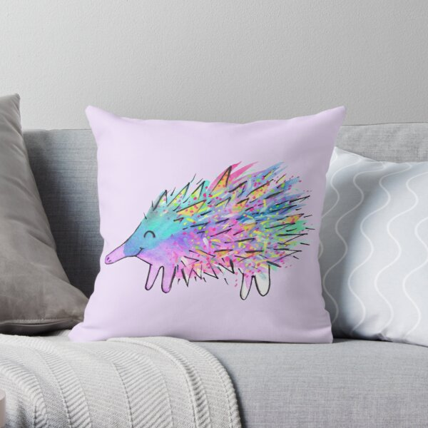 Echidna - Echid You Not Throw Pillow