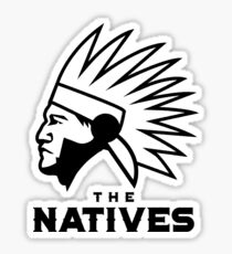 The Natives American Logo Sticker