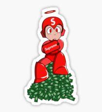 Mega-man Supreme Sticker