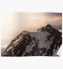 Shuksan Shine - Northern Cascade Mountains at Sunrise Poster