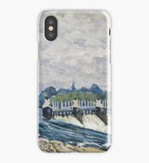 Molesey Weir Hampton Court 1874 Alfred Sisley iPhone Case/Skin