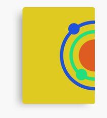 Circles and Rings Canvas Print