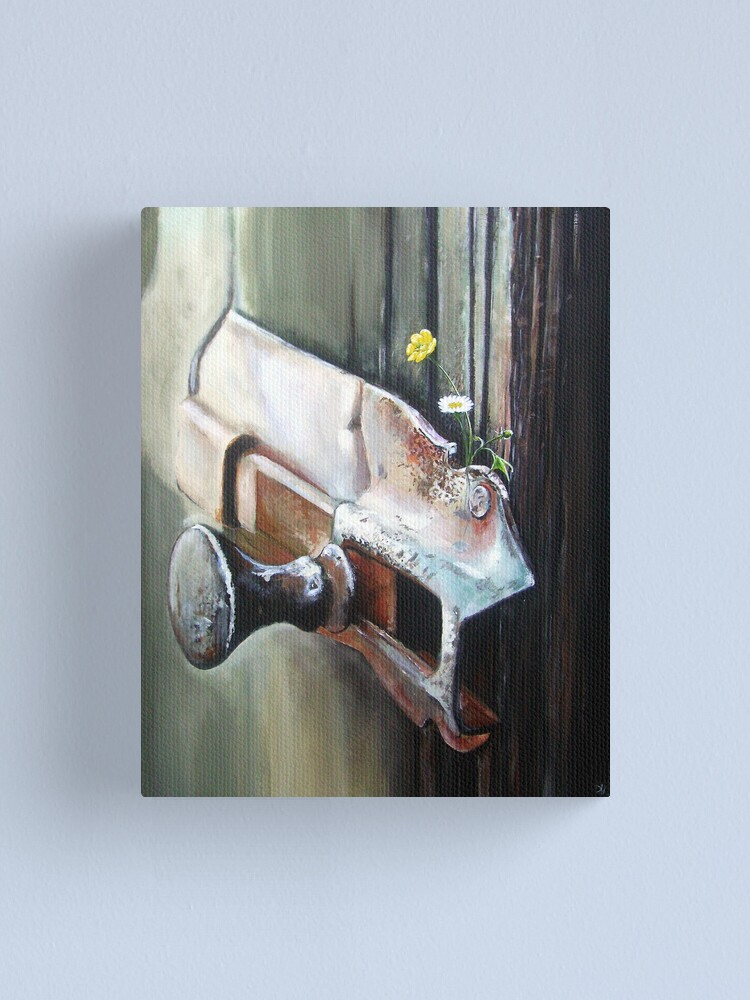 Alternate view of Old and Rusty but Still Working! Canvas Print
