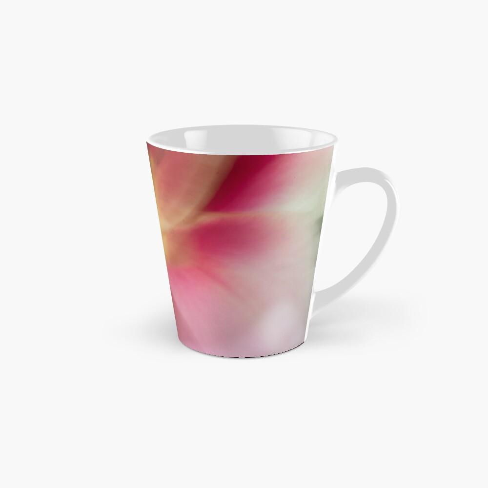 Fleur Blur-Abstract Pink, Yellow, White Lily Mug
