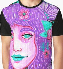 Garden Girl II Graphic T-Shirt