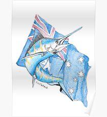 Australian marlin Poster