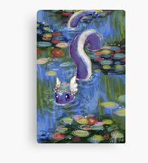 Monet Dragonair Lilies Canvas Print
