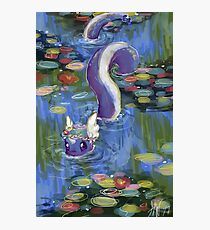 Monet Dragonair Lilies Photographic Print