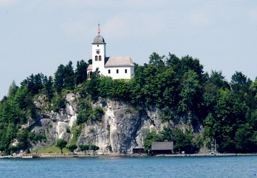 The Curch in St. Wolfgang by bertspix