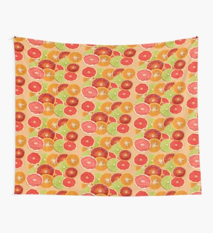 Citrus Fruits {544 Views} Wall Tapestry