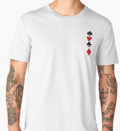 Hearts Clubs Diamond Spades Men's Premium T-Shirt