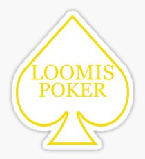 Loomis Poker Sticker