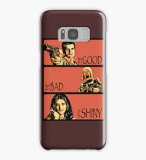 The Good, The Bad, And The Shiny Samsung Galaxy Case/Skin