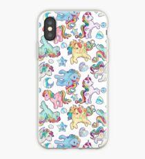 Rainbow Ponys G1 iPhone Case