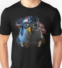 Patriotic Eagle America  T-Shirt