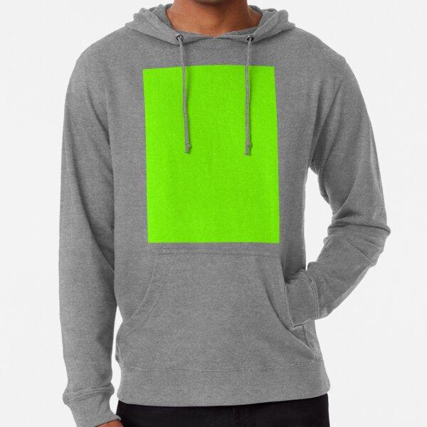 Chartreuse Vert Sweat à capuche léger