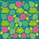 Frog Pattern by mjdaluz