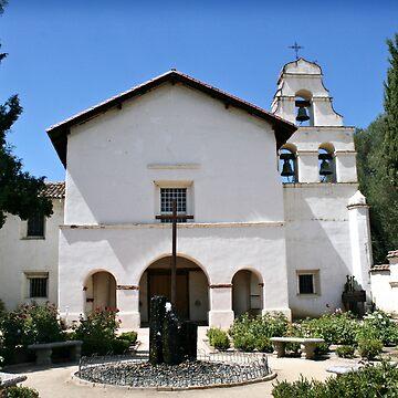 Mission San Juan Bautista by Maggierda