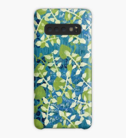 """Greenery"" by Margo Humphries Case/Skin for Samsung Galaxy"