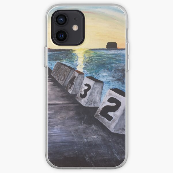 """""""Merewether Baths"""" by Margo Humphries iPhone Soft Case"""