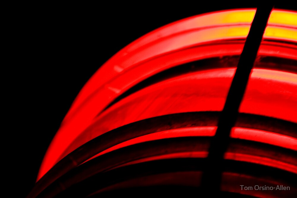 Red Lamp by Tom Allen