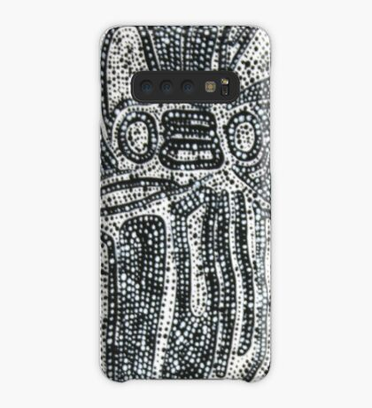 Dot Painting 3 Case/Skin for Samsung Galaxy
