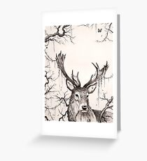 Within The Sleeping Forest  Greeting Card