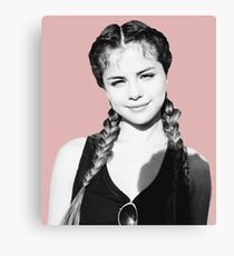 Selena Braids Canvas Print