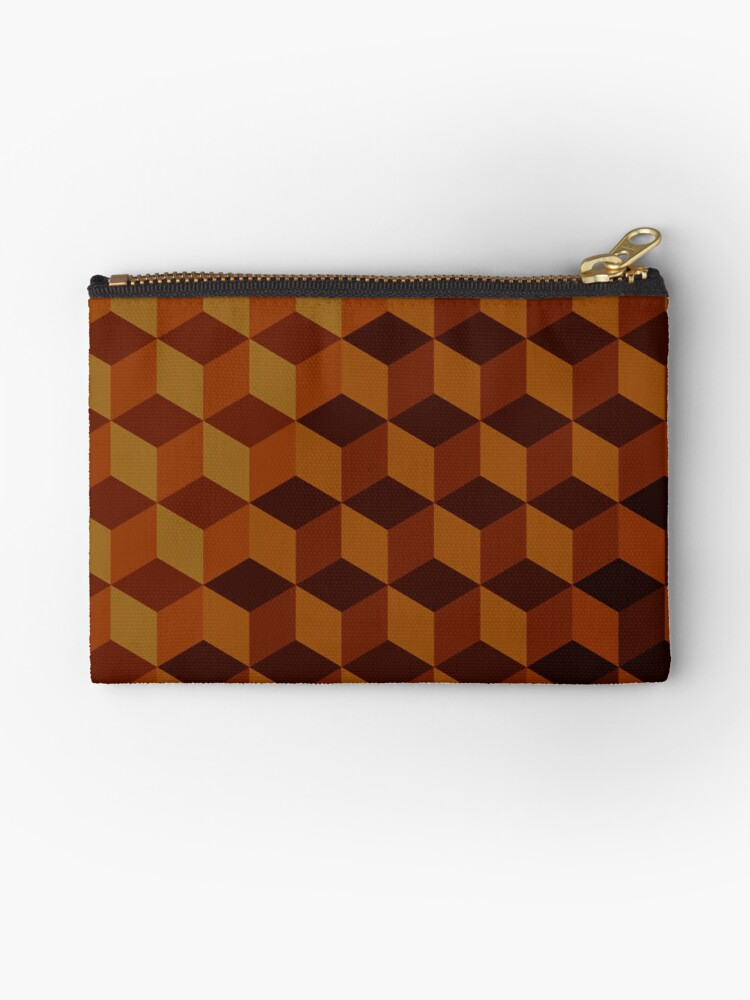 Geometric Brown Pattern by MyArt23